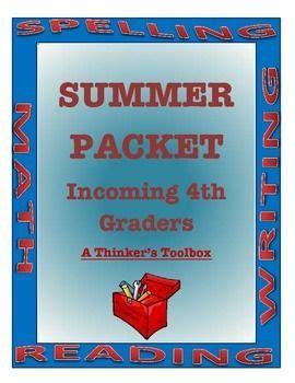 FOURTH GRADE SUMMER PACKET - PGCPS