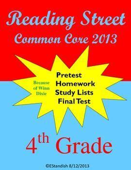 5th grade reading homework packets